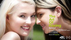 Art Of Kissing Revisited Episode 4 - Surprise - Gina Gerson & Lovita Fate - VivThomas