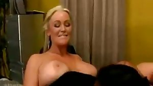 Mozenrath Presents  Nina Mervedez With the addition of Abbey Brooks Sexy Lesbian
