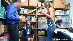 Asian stepdaughter Kimberly Chi lets her stepmom banking her sins